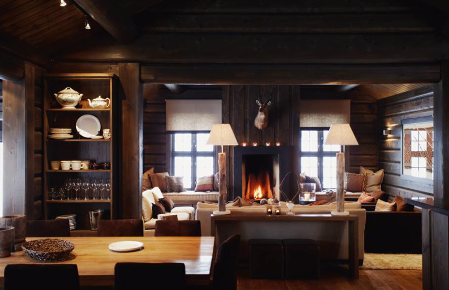 Beautiful Log Cabin Interiors