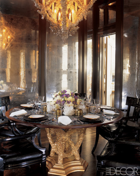 Dining Rooms From Elle Decor: A Thoughtful Eye