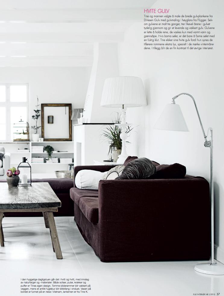 Tine kjeldsen s denmark home a thoughtful eye for Elle decor india contact