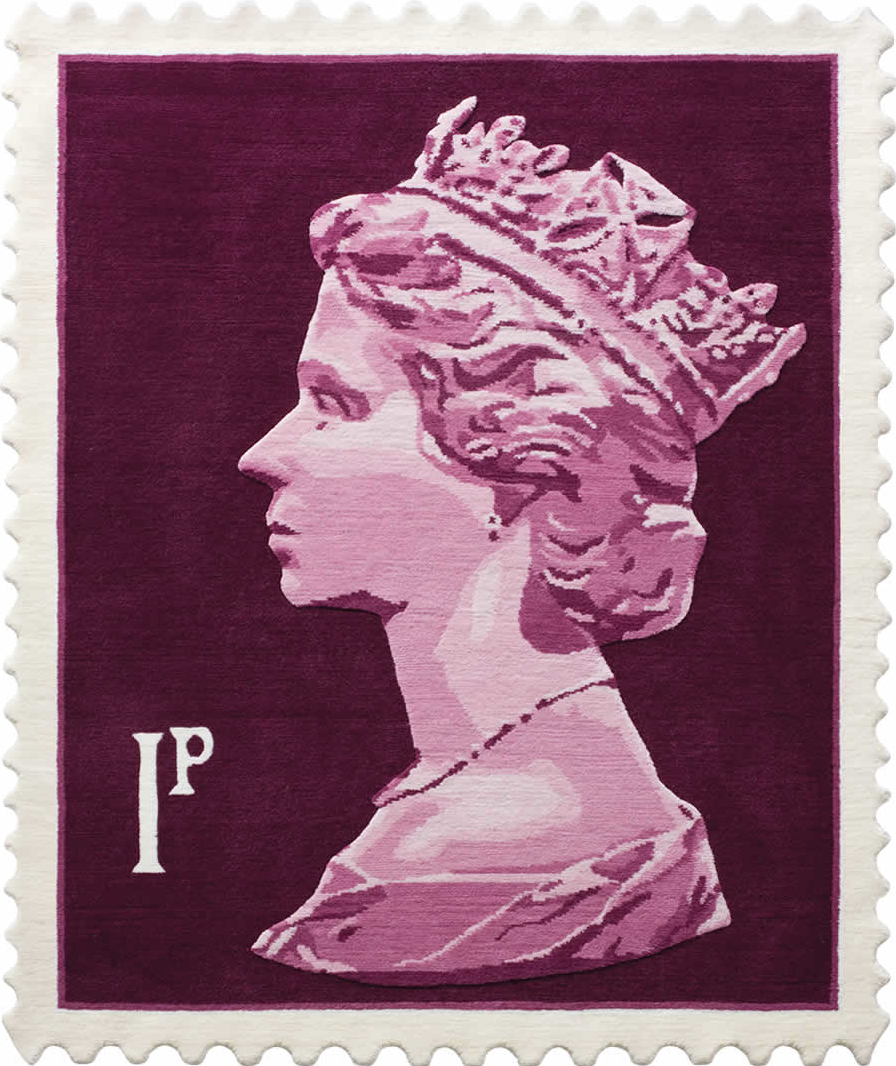 Royal Mail Stamp Rugs A Thoughtful Eye