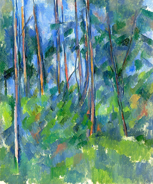 in the woods cezanne 2