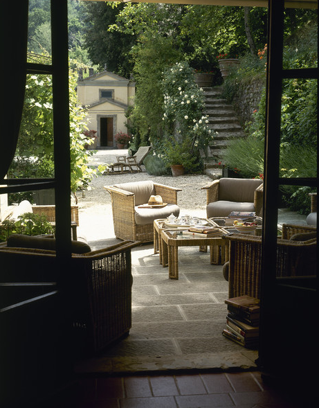 Outdoor entertaining a thoughtful eye for Outside garden rooms
