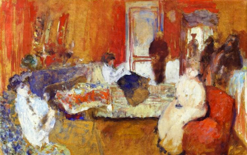 edouard vuillard, 1905 ~ in the red room