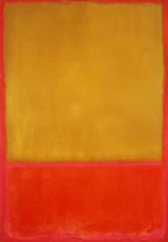 mark rothko ~ ochre and red on red, 1954