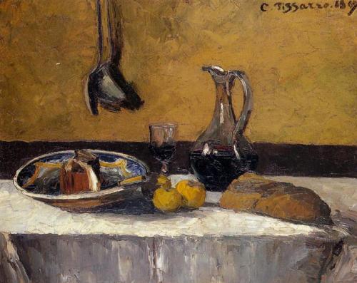 camille pissarro ~ still life, 1867