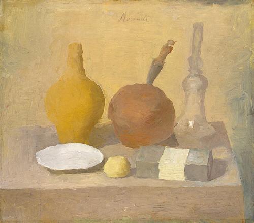 giorgio morandi ~ still life, 1925