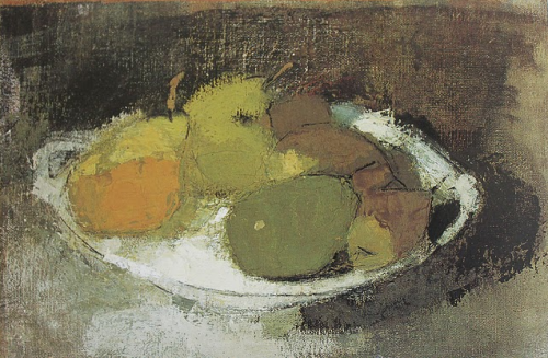 helene schjerfbeck ~ still life in green, 1930