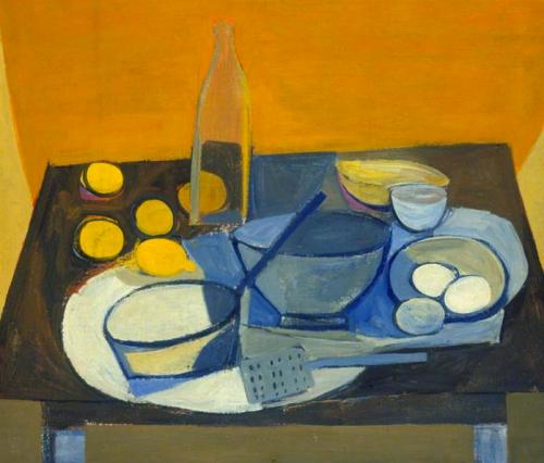 william scott ~ kitchen still life, 1948